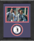 Sigma Phi Epsilon Photo Frame - 4' x 6' - Lasting Memories Circle Logo Photo Frame in Arena