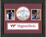 Virginia Polytechnic Institute and State University Photo Frame - Lasting Memories Banner Collage Photo Frame in Arena
