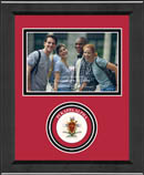 Pi Kappa Alpha Photo Frame - Lasting Memories Circle Logo Photo Frame in Arena
