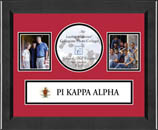 Pi Kappa Alpha Collage Frame - Lasting Memories Banner Collage Frame in Arena