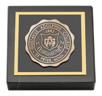 Gustavus Adolphus College Paperweight - Antique Medallion Paperweight