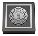 Commonwealth of Kentucky Paperweight - Silver Engraved Medallion Paperweight