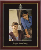 Alpha Chi Omega Photo Frame - Embossed Photo Frame in Galleria