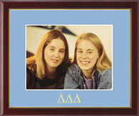 Delta Delta Delta Photo Frame - Embossed Greek Letters Photo Frame in Galleria