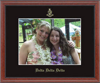 Delta Delta Delta Photo Frame - Embossed Photo Frame in Signet