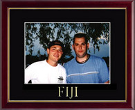 Phi Gamma Delta Photo Frame - Greek Letters Embossed Photo Frame in Galleria