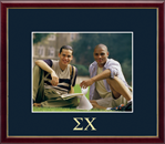 Sigma Chi Photo Frame - Embossed Greek Letters Photo Frame in Galleria