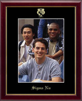 Sigma Nu Photo Frame - Embossed Photo Frame in Galleria
