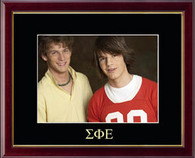 Sigma Phi Epsilon Photo Frame - Greek Letters Embossed Photo Frame in Galleria