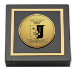 Sigma Phi Epsilon Paperweight - Gold Engraved Medallion Paperweight