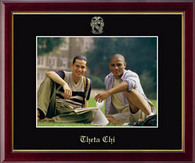 Theta Chi Photo Frame - 8' x 10' - Wall Hanging Embossed Photo Frame in Galleria