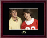 Theta Chi Photo Frame - Embossed Greek Letters Photo Frame in Galleria