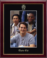 Theta Chi Photo Frame - Embossed Photo Frame in Galleria