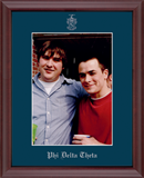 Phi Delta Theta Photo Frame - Embossed Photo Frame in Camby