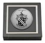 Phi Delta Theta Paperweight - Silver Engraved Medallion Paperweight