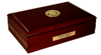 Fire Department Gifts and Desk Accessories Desk Box - Gold Engraved Medallion Desk Box