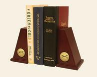 Infantry Gifts and Desk Accessories Bookends - Gold Engraved Medallion Bookends