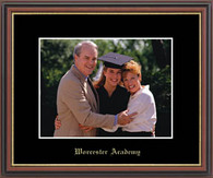 Worcester Academy Photo Frame - Embossed Photo Frame in Williamsburg