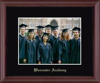 Worcester Academy Photo Frame - Embossed Photo Frame in Camby