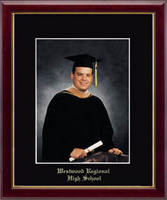 Westwood Regional High School Photo Frame - Embossed Photo Frame in Galleria
