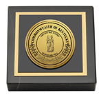 Commonwealth of Kentucky Paperweight - Gold Engraved Medallion Paperweight