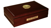 State of Montana Desk Box - Gold Engraved Medallion Desk Box