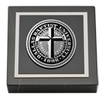 Dallas Baptist University Paperweight - Pewter Masterpiece Medallion Paperweight