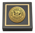 Olivet Nazarene University Paperweight - Gold Engraved Paperweight