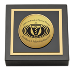 American Board of Physical Therapy Residency & Fellowship Education Paperweight - Gold Engraved Paperweight