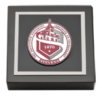 Stevens Institute of Technology Paperweight - Pewter Masterpiece Medallion Paperweight