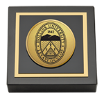 Hollins University Paperweight - Gold Engraved Paperweight