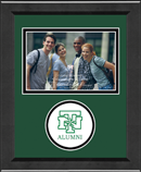 University of North Texas Photo Frame - Lasting Memories Circle Logo Photo Frame - Horizontal Photo in Arena