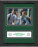 University of North Texas Photo Frame - 4' x 6' - Lasting Memories Banner Photo Frame in Arena