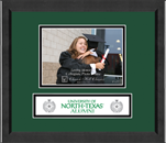 University of North Texas Photo Frame - 5' x 7' Lasting Memories Banner Photo Frame - Horizontal Photo in Arena