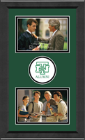 University of North Texas Photo Frame - Lasting Memories Double Circle Logo Photo Frame in Arena