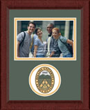 Hollins University Photo Frame - Lasting Memories Circle Logo Photo Frame in Sierra