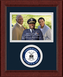 United States Air Force Academy Photo Frame - Lasting Memories Circle Logo Photo Frame in Sierra