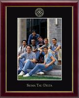 Sigma Tau Delta Photo Frame - Embossed Photo Frame in Galleria