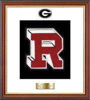 Rye High School in New York Varsity Letter Frame - Varsity Letter Frame in Newport