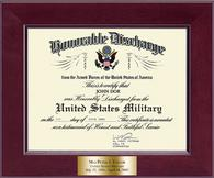 United States Air Force Certificate Frame - Honorable Discharge Certificate Frame in Cordova