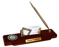 Georgia Health Sciences University Desk Pen Set - Masterpiece Medallion Desk Pen Set