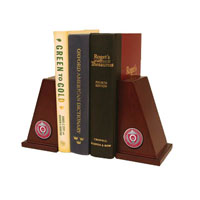 The Ohio State University Bookend - Pewter Masterpiece Medallion Bookends