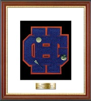 Horace Greeley High School in New York Varsity Letter Frame - Varsity Letter Frame in Newport