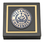 Villanova University Paperweight - Masterpiece Medallion Paperweight