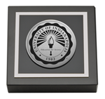 University of Indianapolis Paperweight - Silver Engraved Medallion Paperweight