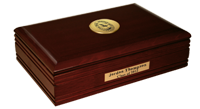 Paul Smith's College Desk Box  - Gold Engraved Medallion Desk Box