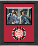 Cornell University Photo Frame - Lasting Memories Circle Logo 'Class of 2015' Photo Frame in Arena