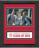 Cornell University Photo Frame - Lasting Memories 'Class of 2015' Banner Photo Frame in Arena