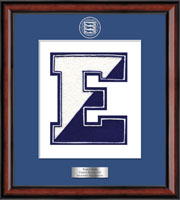 Edgemont High School in New York Varsity Letter Frame - Varsity Letter Frame in Southport