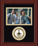 The National Beta Club Photo Frame - Lasting Memories Circle Logo Photo Frame in Sierra